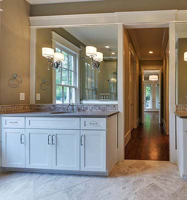 Bathroom Remodel with Designers Choice Cabinets